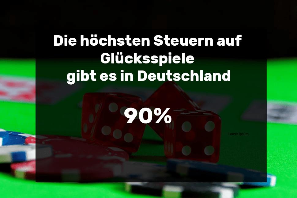Glücksspielsteuern Deutschland